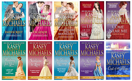 Historical Regency Romance Titles