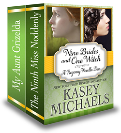 Nine Brides and One Witch: A Regency Novella Duo